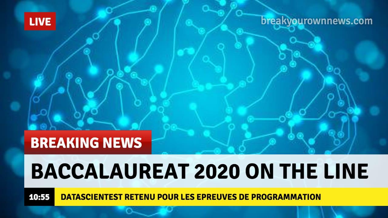 Fake news bac 2020