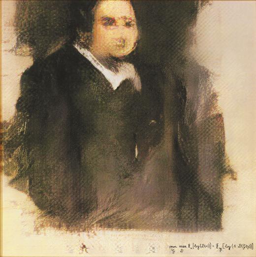 Portrait d'Edmon Belamy