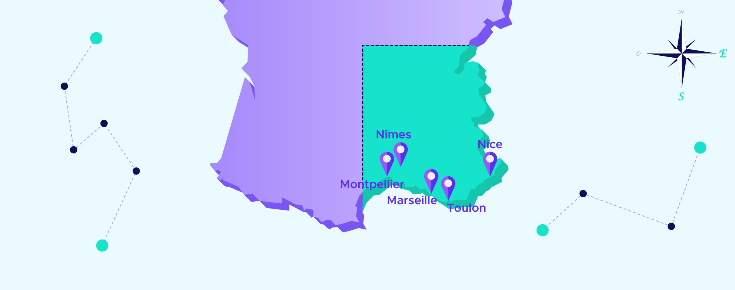 Tour de France de la data – Sud Est