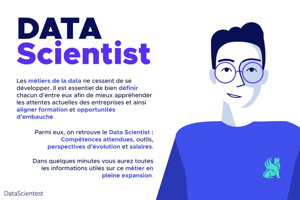 fiche métier Data scientist