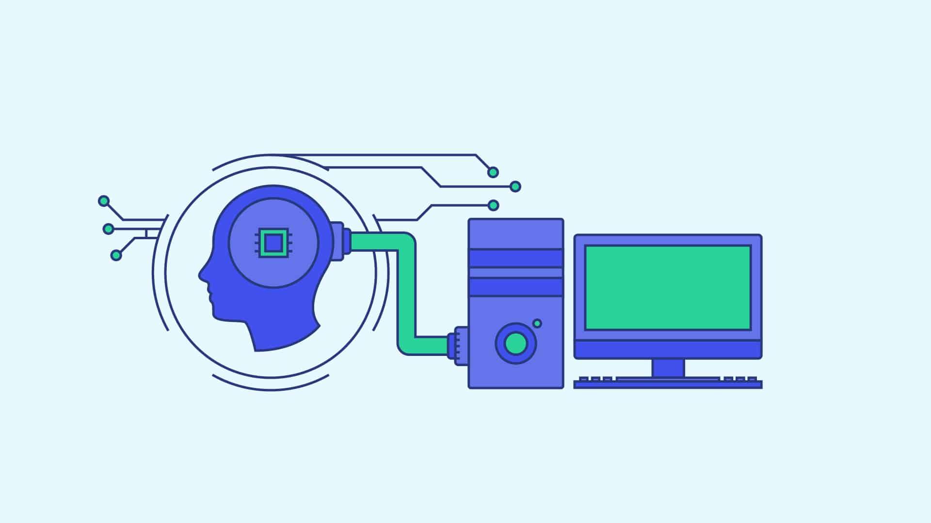 dessin illustrant le métier du machine learning engineer