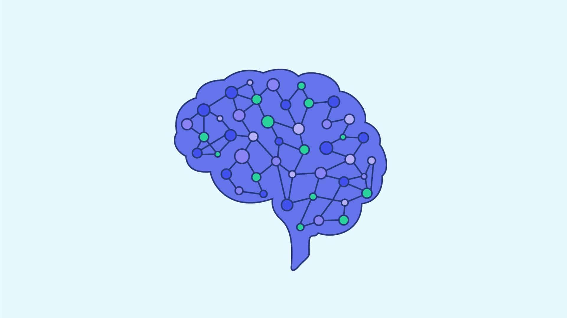 illustration du deep neural network dans un cerveau humain
