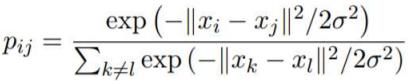 liste de probabilités conditionnelles notées
